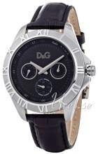 Dolce & Gabbana D&G Chamonix Svart/Läder Ø40 mm