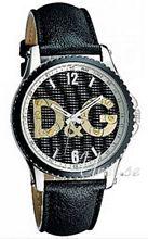Dolce & Gabbana D&G Sestriere Svart/Läder Ø44 mm