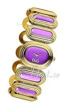 Dolce & Gabbana D&G Lila/Roséguldstonat stål Ø35 mm