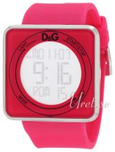 Dolce & Gabbana D&G High Contact Silverfärgad/Gummi