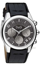 Dolce & Gabbana D&G Sandpiper Svart/Läder Ø36 mm