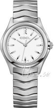 Ebel Wave Vit/Stål Ø30 mm