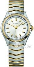 Ebel Wave Silverfärgad/Gulguldtonat stål Ø30 mm