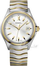 Ebel Wave Silverfärgad/Gulguldtonat stål Ø40 mm