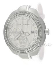 Emporio Armani Exchange Accents Silverfärgad/Gummi