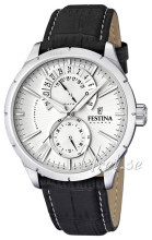 Festina Dress Silverfärgad/Läder Ø46 mm