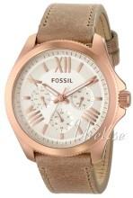 Fossil Vit/Läder