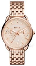 Fossil Dress Roséguldstonad/Roséguldstonat stål Ø35 mm