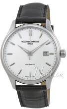 Frederique Constant Classics Silverfärgad/Läder
