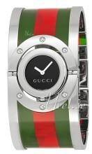 Gucci Twirl Svart/Stål Ø23.5 mm