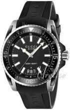 Gucci Svart/Gummi Ø45 mm