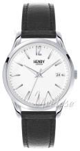 Henry London Westminster Vit/Läder Ø39 mm