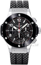 Hublot Big Bang Evolution Svart/Gummi Ø44.5 mm