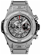 Hublot Big Bang 44.5mm Skelettskuren/Titan