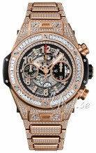 Hublot Big Bang 44.5mm Skelettskuren/18 karat roséguld