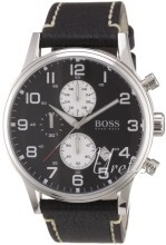 Hugo Boss Svart/Läder Ø44 mm