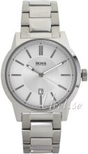 Hugo Boss Silverfärgad/Stål Ø44 mm