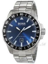 Hugo Boss Deep Ocean Blå/Stål Ø46 mm