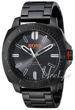 Hugo Boss Svart/Stål Ø46 mm