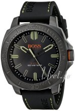 Hugo Boss Svart/Gummi Ø46 mm