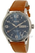 Hugo Boss Blå/Läder Ø44 mm