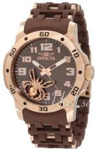 Invicta Sea Spider Brun/Roséguldstonat stål