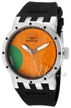 Invicta DNA Orange/Gummi Ø40 mm