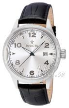 Invicta Vintage Silverfärgad/Läder