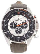 Invicta S1 Silverfärgad/Läder