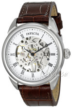 Invicta Specialty Vit/Läder Ø42 mm