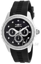 Invicta Angel Svart/Gummi