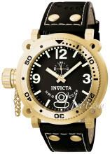 Invicta Russian Diver Svart/Läder