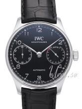 IWC Portuguese Svart/Läder