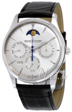 Jaeger LeCoultre Master Ultra Thin Perpetual Stainless Steel Sil