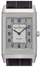 Jaeger LeCoultre Reverso Classique Stainless Steel Silverfärgad/