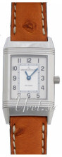 Jaeger LeCoultre Reverso Lady Stainless Steel Silverfärgad/Läder