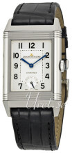 Jaeger LeCoultre Grande Reverso Night & Day Stainless Steel Silv