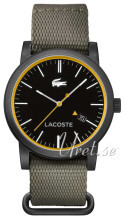 Lacoste Svart/Läder