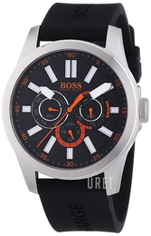 Hugo Boss Paris Svart/Gummi Ø44 mm 1512933