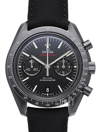 Omega Speedmaster Moonwatch Co-Axial Chronograph 44.25mm Dark Side of the Moon Svart/Textil Ø44.25 mm 311.92.44.51.01.003