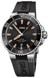 Oris Diving Svart/Gummi Ø43.5 mm 01 733 7730 4159-07 4 24 64EB