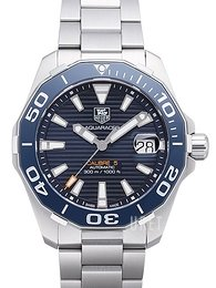 TAG Heuer Aquaracer Blå/Stål Ø41 mm WAY211C.BA0928