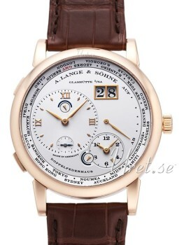 A. Lange & Söhne Lange 1 GMT Rose Gold White Dial