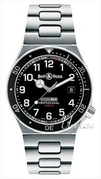 Bell & Ross Professional Svart/Stål