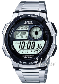 Casio Stål Ø43.7 mm