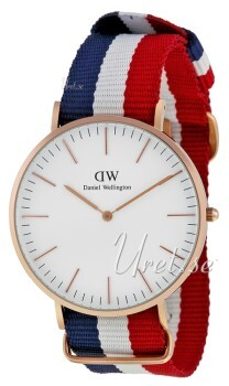 Daniel Wellington Classic Cambridge Antikvit/Textil Ø40 mm