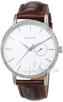 Gant Park Hill II Silverfärgad/Läder