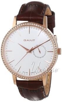 Gant Park Hill II Vit/Läder