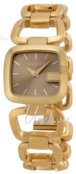 Gucci G Gucci Brun/Gulguldtonat stål