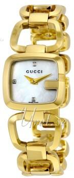 Gucci G Gucci Vit/Gulguldtonat stål